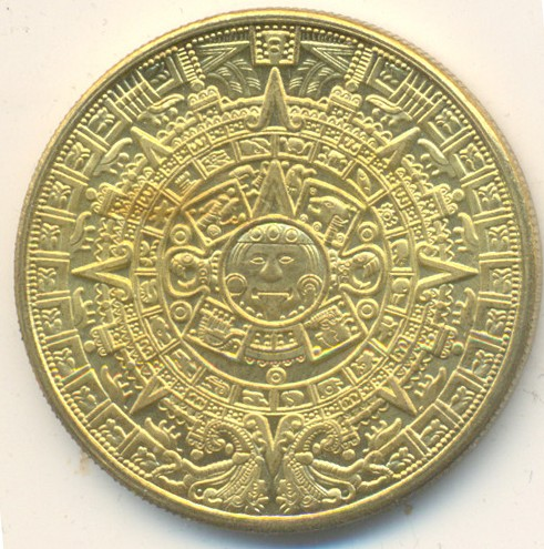 Памятная медаль «Конец света 2012»