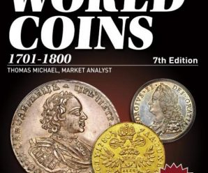 Каталог KRAUSE 2016 Standard Catalog of World Coins 18th Century 7th Edition 1701-1800